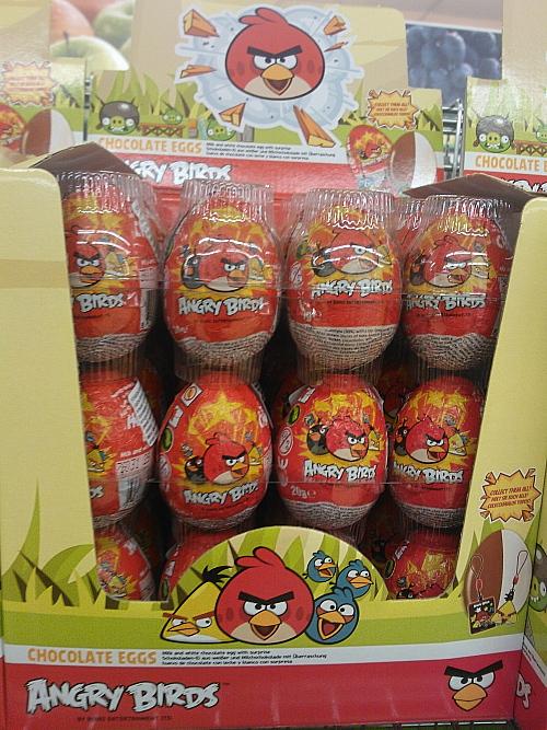 Angry Birds Suklaamuna