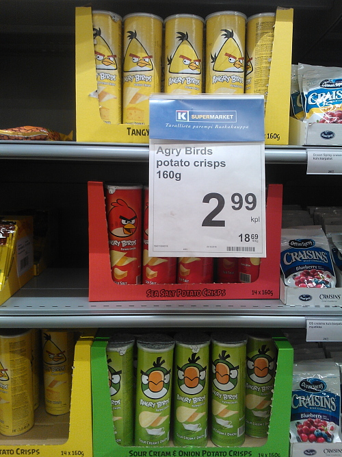 Angry Birds chipsi