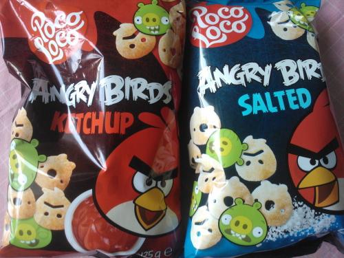 Angry Birds アングリーバード ポテトスナック