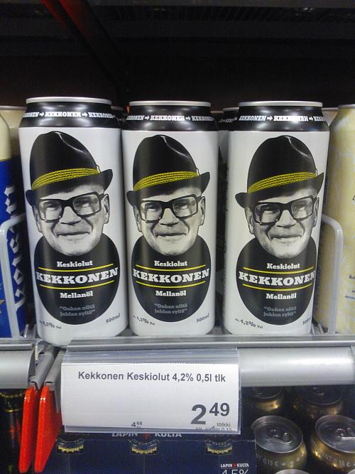 Kekkonen olut ケッコネンビール