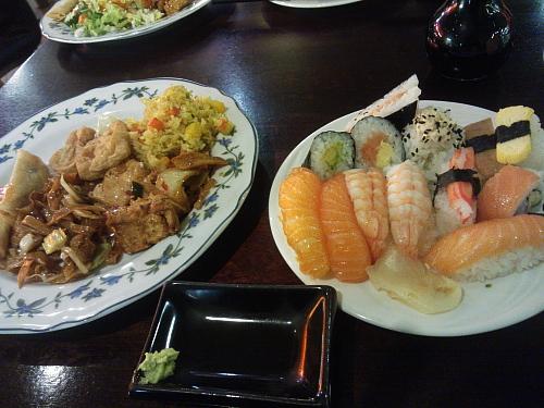 Kaisaniemi Sushi Buffe