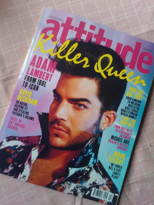 Adam Lambert Magazine Attitude