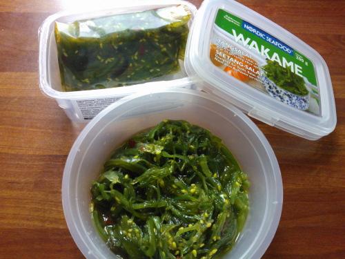 Wakame salad わかめサラダ