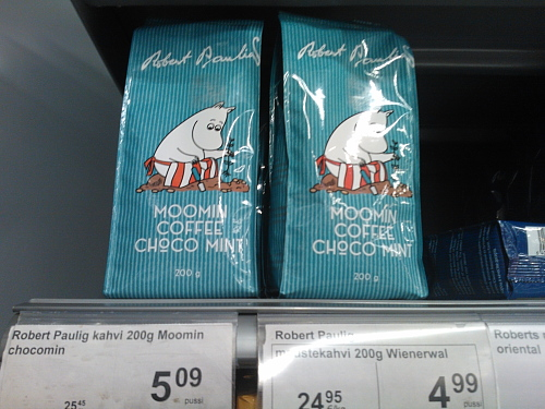 Muumi kahvi ムーミンコーヒー