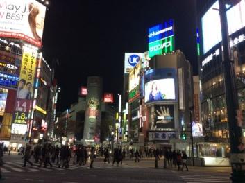 元日の渋谷