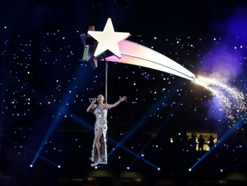 katy perry shooting star