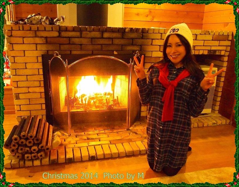 穂高 暖炉44