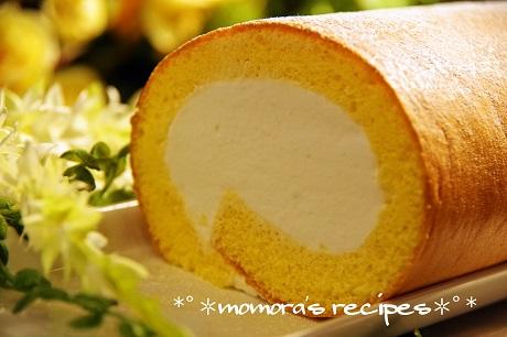 材料3つロールケーキ1