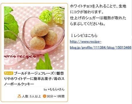 クッキーレシピブログ3