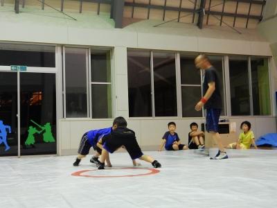 レスリング練習 004