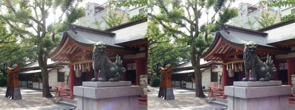 御霊神社②(平行法)