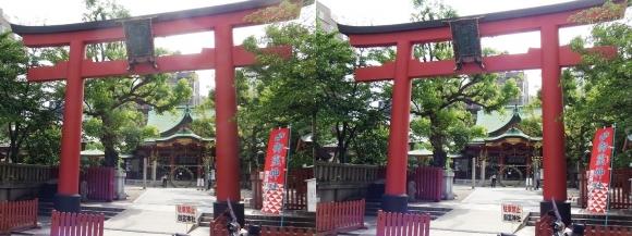 御霊神社①(平行法)