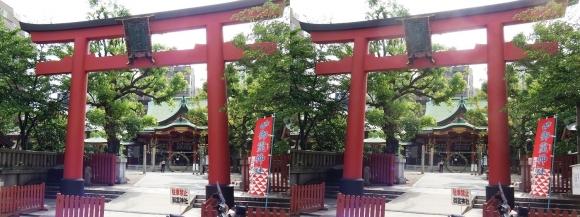 御霊神社①(交差法)