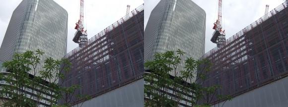 大阪・中之島プロジェクト(朝日新聞ビルとフェスティバルホール)(交差法)