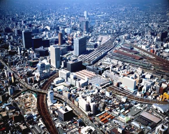大阪梅田空撮 1985年(昭和60年)