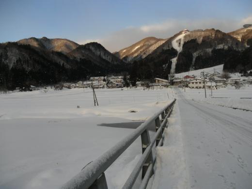 中綱湖 結氷
