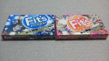 ロッテ「ドラゴンボール改×フィッツ」