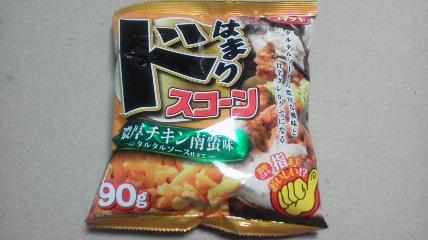 コイケヤ「ドはまりスコーン 濃厚チキン南蛮味」