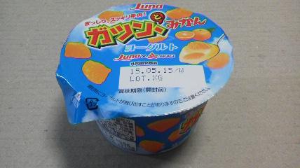 日本ルナ「ガツン、とみかんヨーグルト」