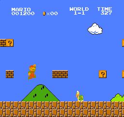 マリオジャンプ