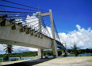 日本・パラオ友好の橋