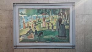 陶板名画の庭