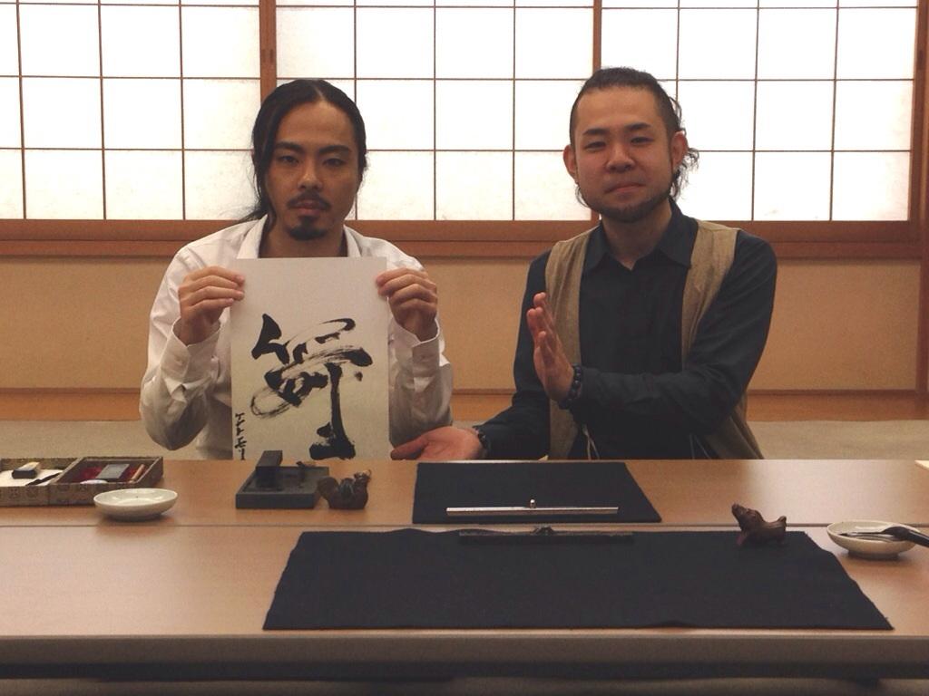 フジテレビ「ONE hour sense」出演:ケント・モリ & 遠藤夕幻 in 高野山東京別院 4