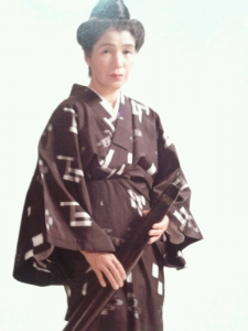 母60歳の琉装