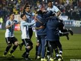 アルゼンチンの選手達