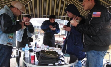 2015年KROG東海ミーティング コーンフレーク早食い大会 NEOPASA清水