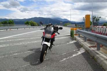 中部横断自動車道 南アルプス本線料金所Motorcycle Tours Motorbike Adventure travel Cycling Ecotourism - Minobu san Yamanashi -‎Japan