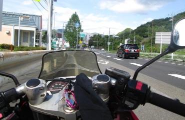 中央自動車道 大月インターチェンジMotorcycle Touring Motorradreise Mototurismo