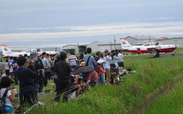 T-7初等練習機 第11飛行教育団 2015年 静浜基地航空祭 航空自衛隊JASDF Shizuhama Airbase