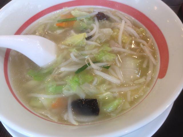 タンメン麺抜き