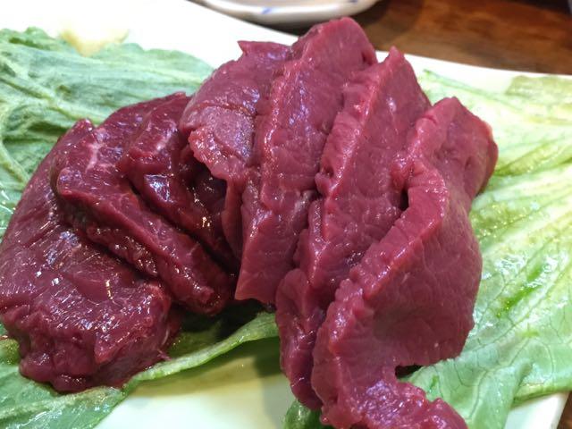 まるい肉1