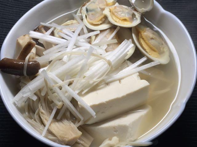 ホンビノス豆腐