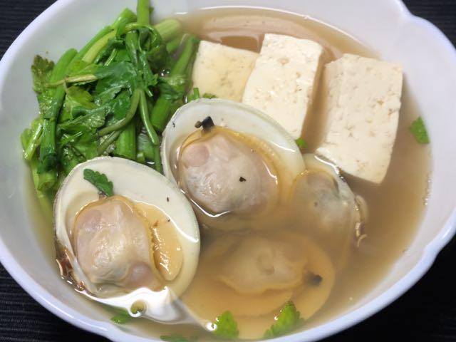 ホンビノス芹豆腐