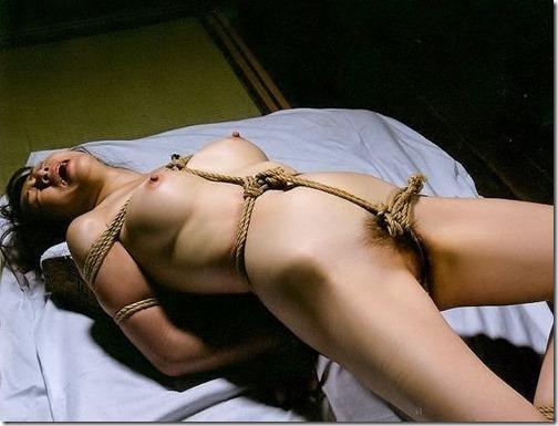 【SM緊縛エロ画像】段々過激になるプレイにも股間を濡らす人妻達14