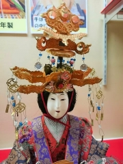 昭和初期のおひなさまの顔 1