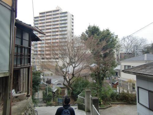 河内長野駅へ向かう道