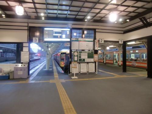 南海極楽橋駅ホーム