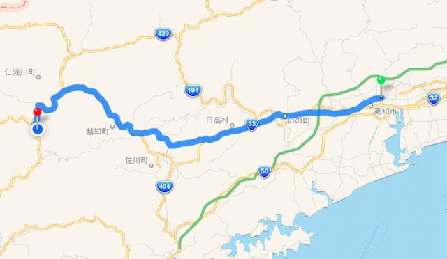 高知駅から