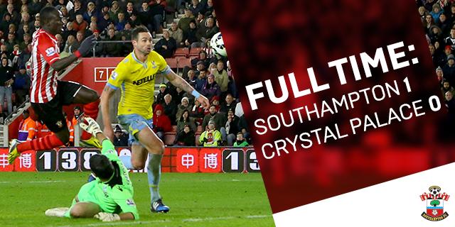 Southampton 1-0 Crystal Palace
