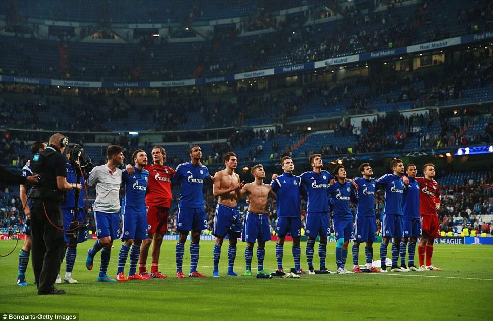Real Madrid 3-4 Schalke