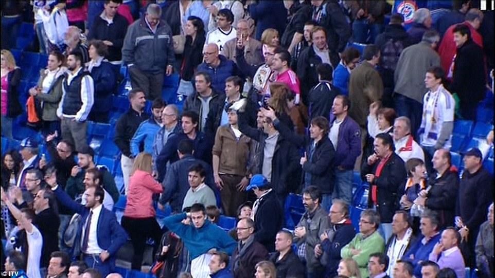 Real Madrid SUPPORTER 3-4 Schalke