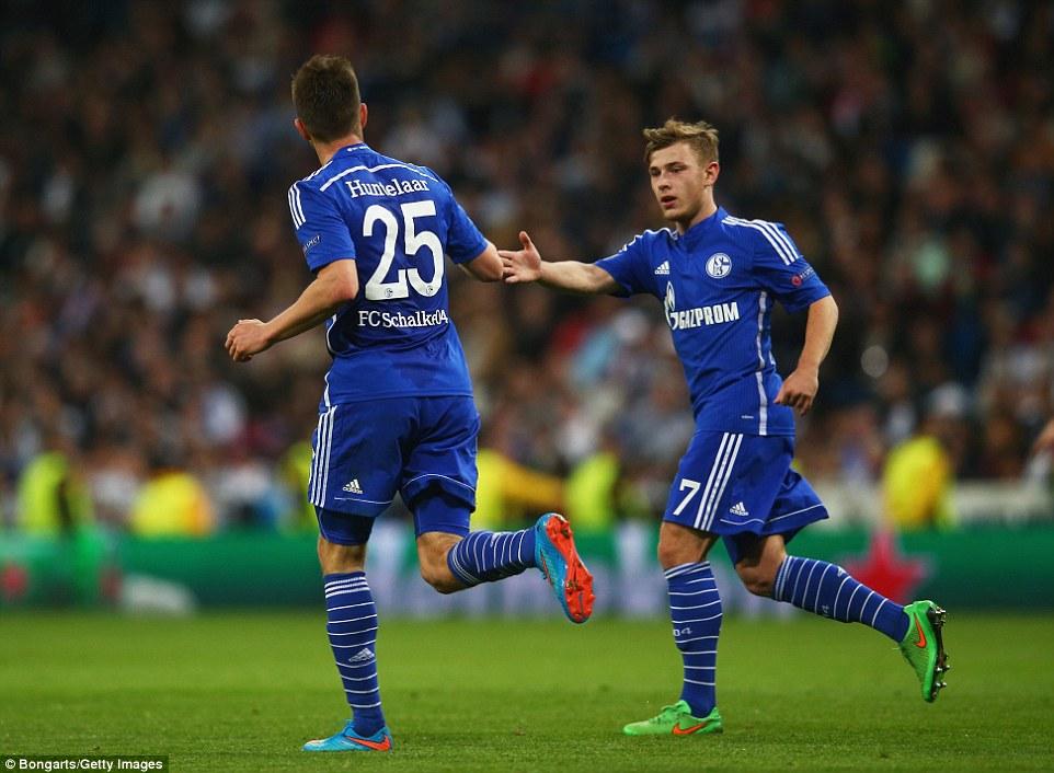 Real Madrid 3-4 Schalke Huntelaar