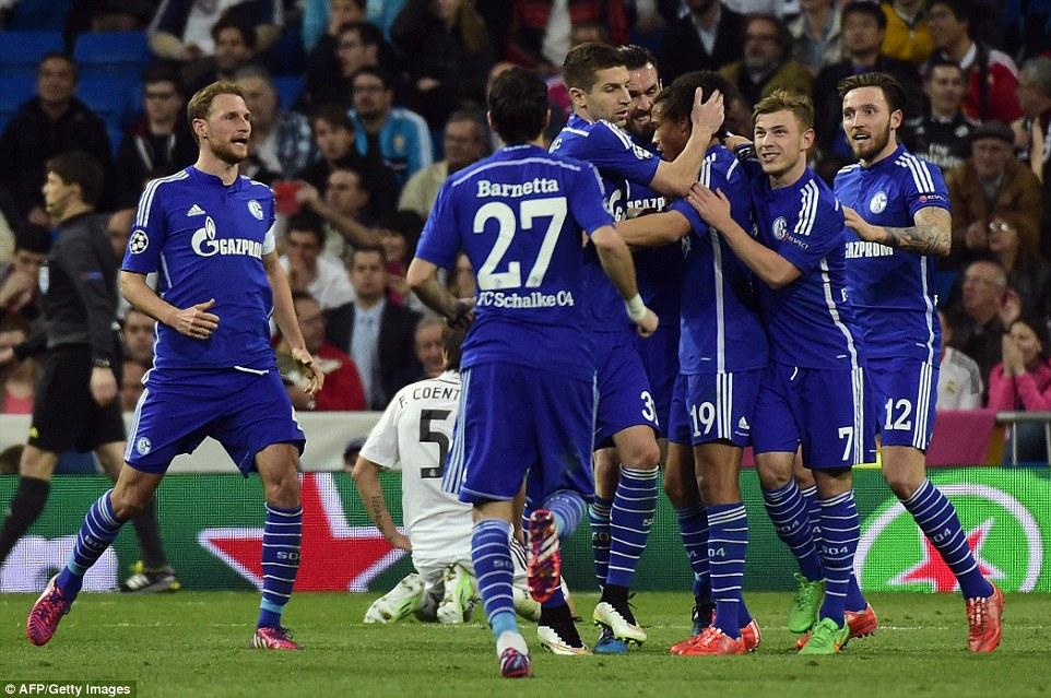 Real Madrid 3-4 Schalke SANE