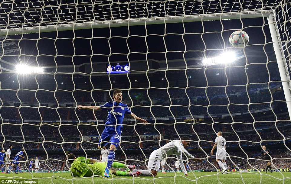 Real Madrid 2-1 Schalke