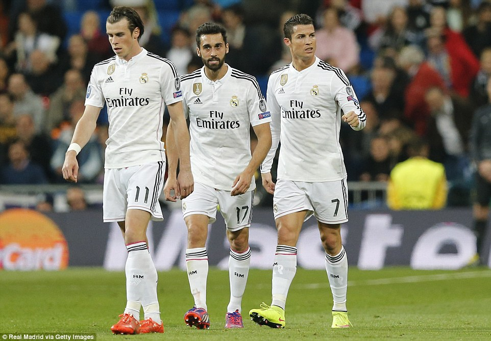 Real Madrid 1-1 Schalke Ronaldo