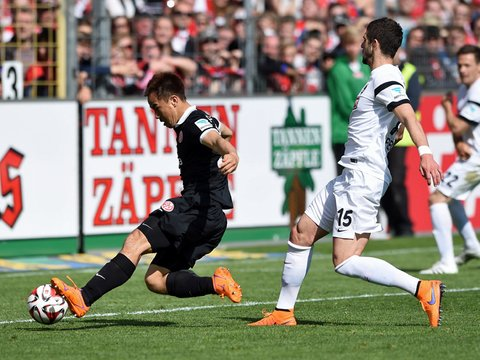 Freiburg 0-1 Mainz okazaki